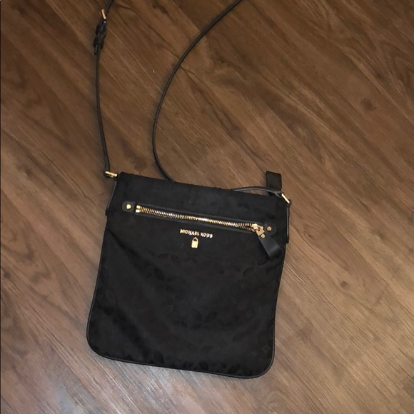 Michael Kors Handbags - Michael Kors Cross Body Black Bag
